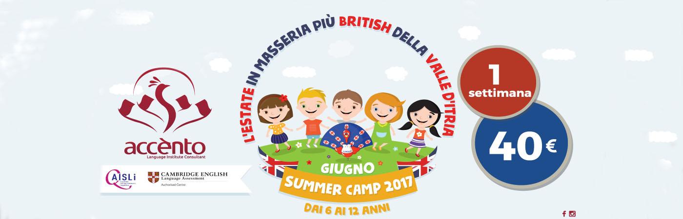 Accento Summer Camp 2017